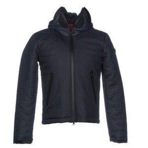 AI Riders Of The Storm Navy Goggle Hooded Jacket